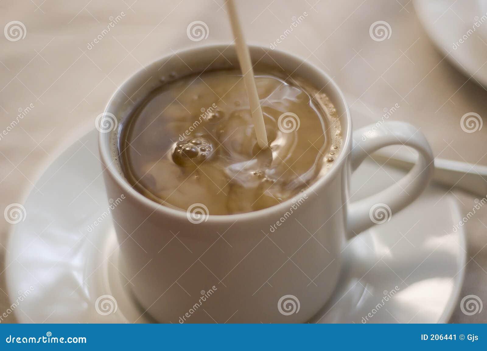 Pouring Cream Stock Image - Image: 206441