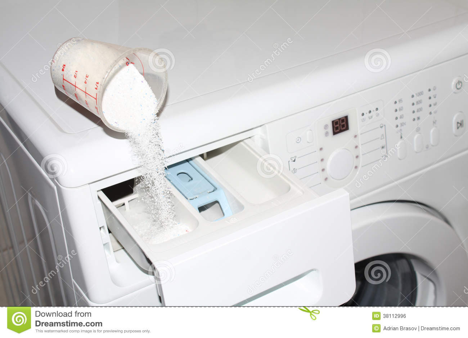 Detergent Washing Machine Royalty Free Stock Image Image