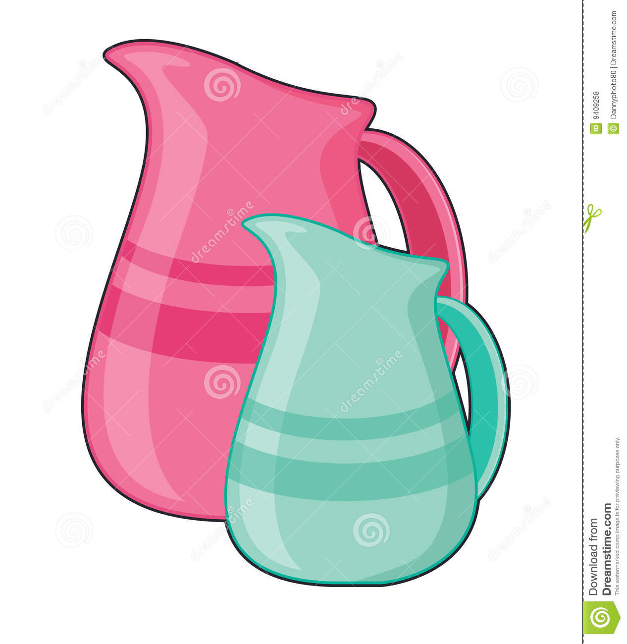 Pouring Jugs Royalty Free Stock Photos - Image: 9409258