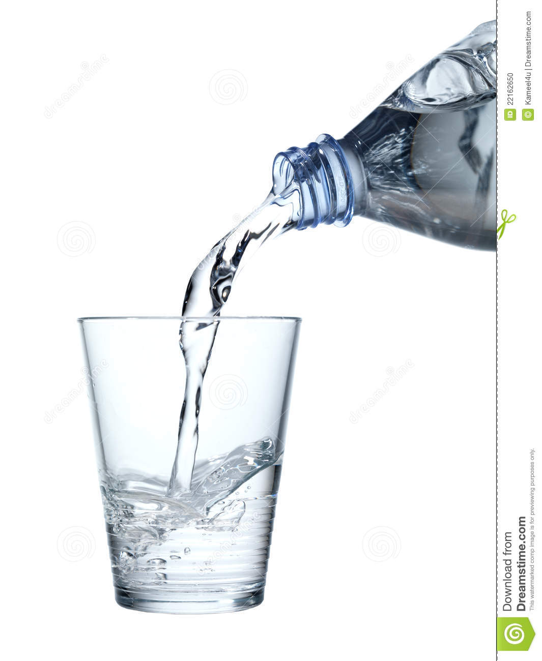 Pouring mineral water in a water glass stock photo image for Water glass images