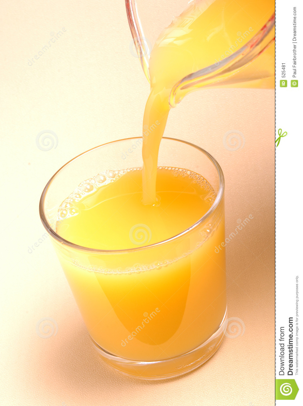 Stock Image Pouring Orange Juice Glass Image525481 on orange juice pitcher