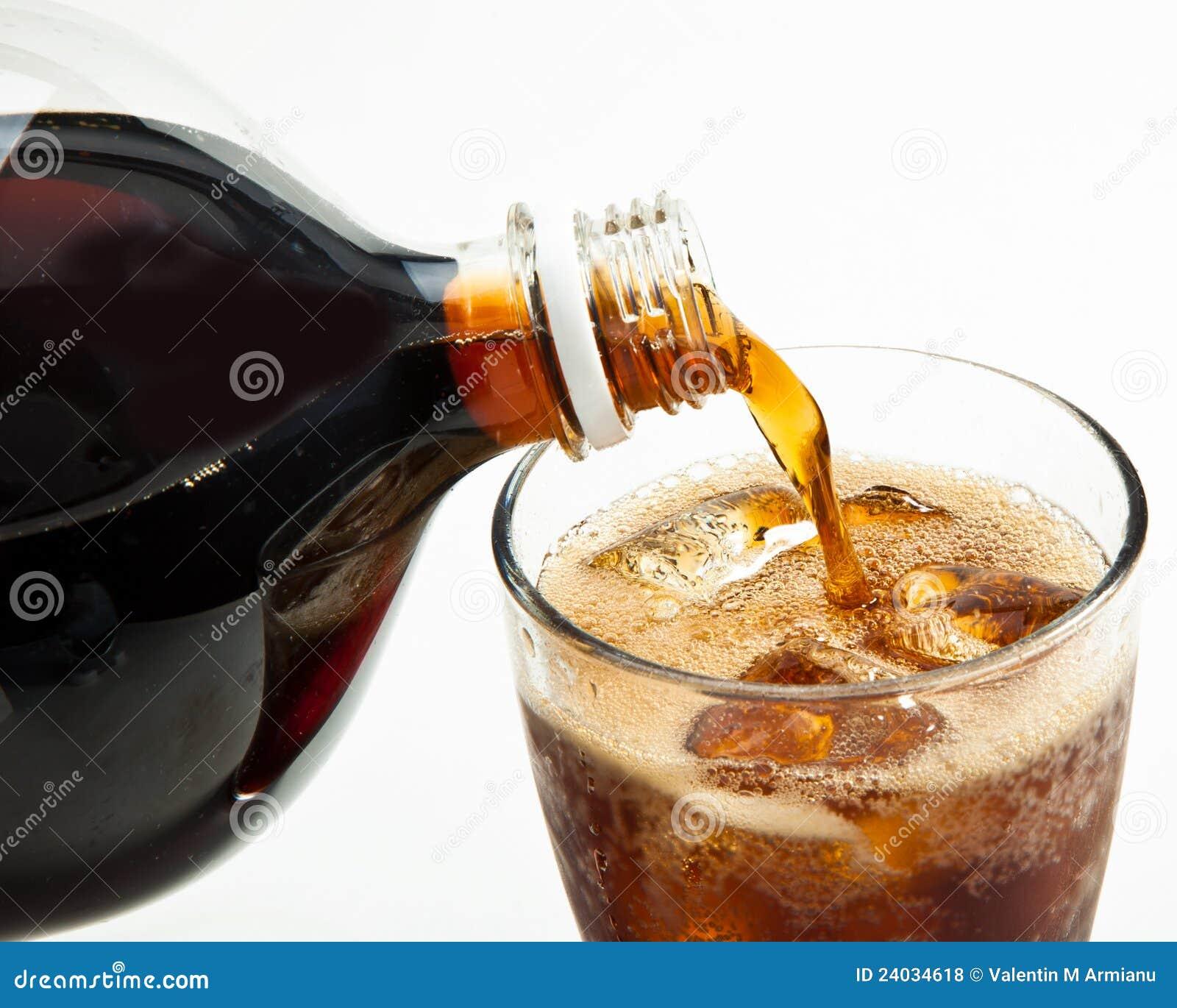 Pouring Soda