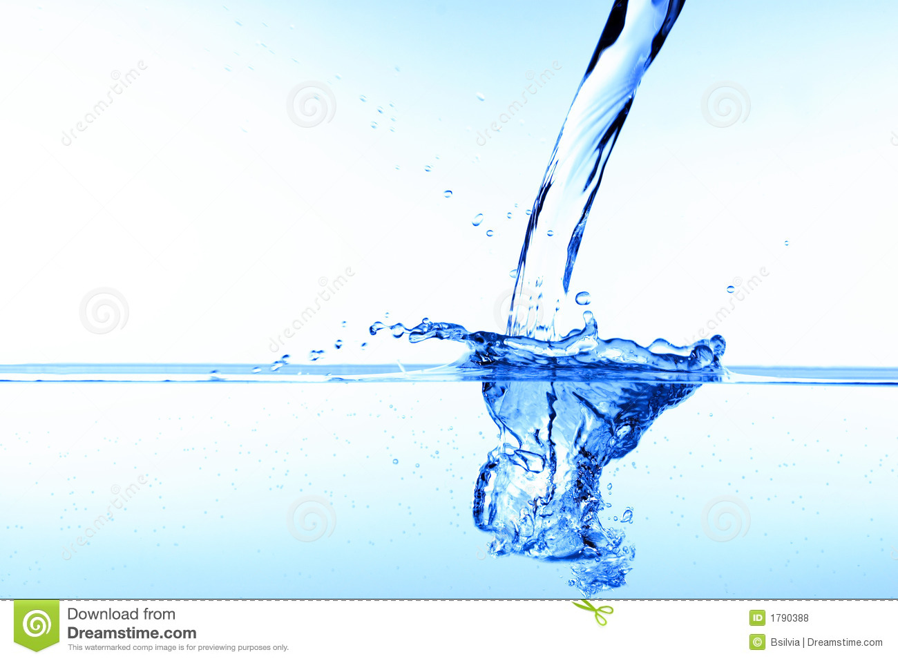 Pouring water stock photo. Image of background, depth - 1790388