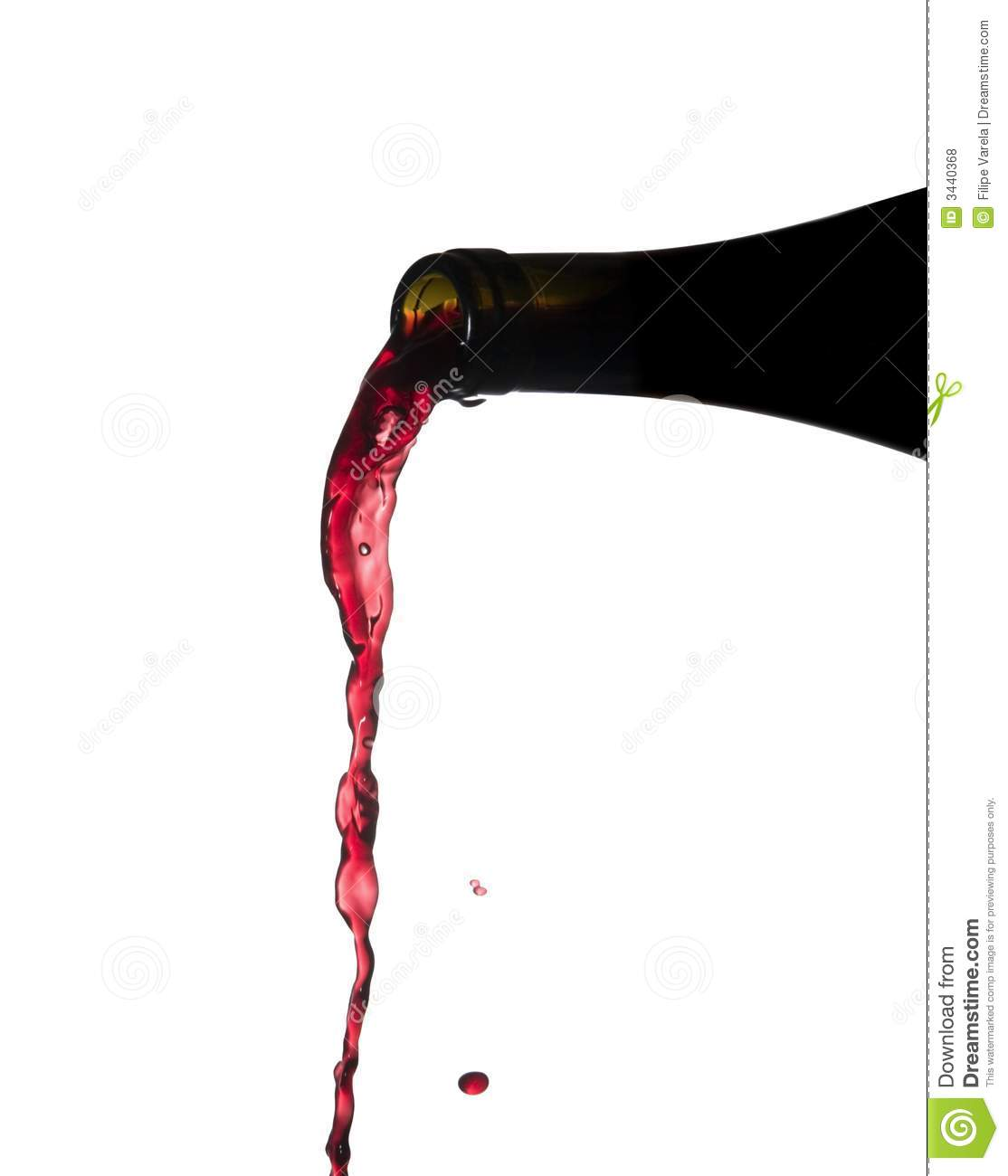 Pouring Wine Royalty Free Stock Photos - Image: 3440368