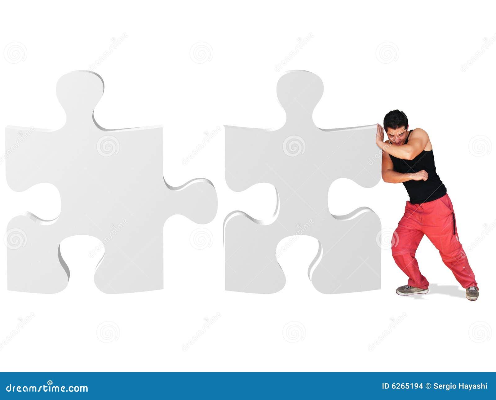 Poussée du puzzle