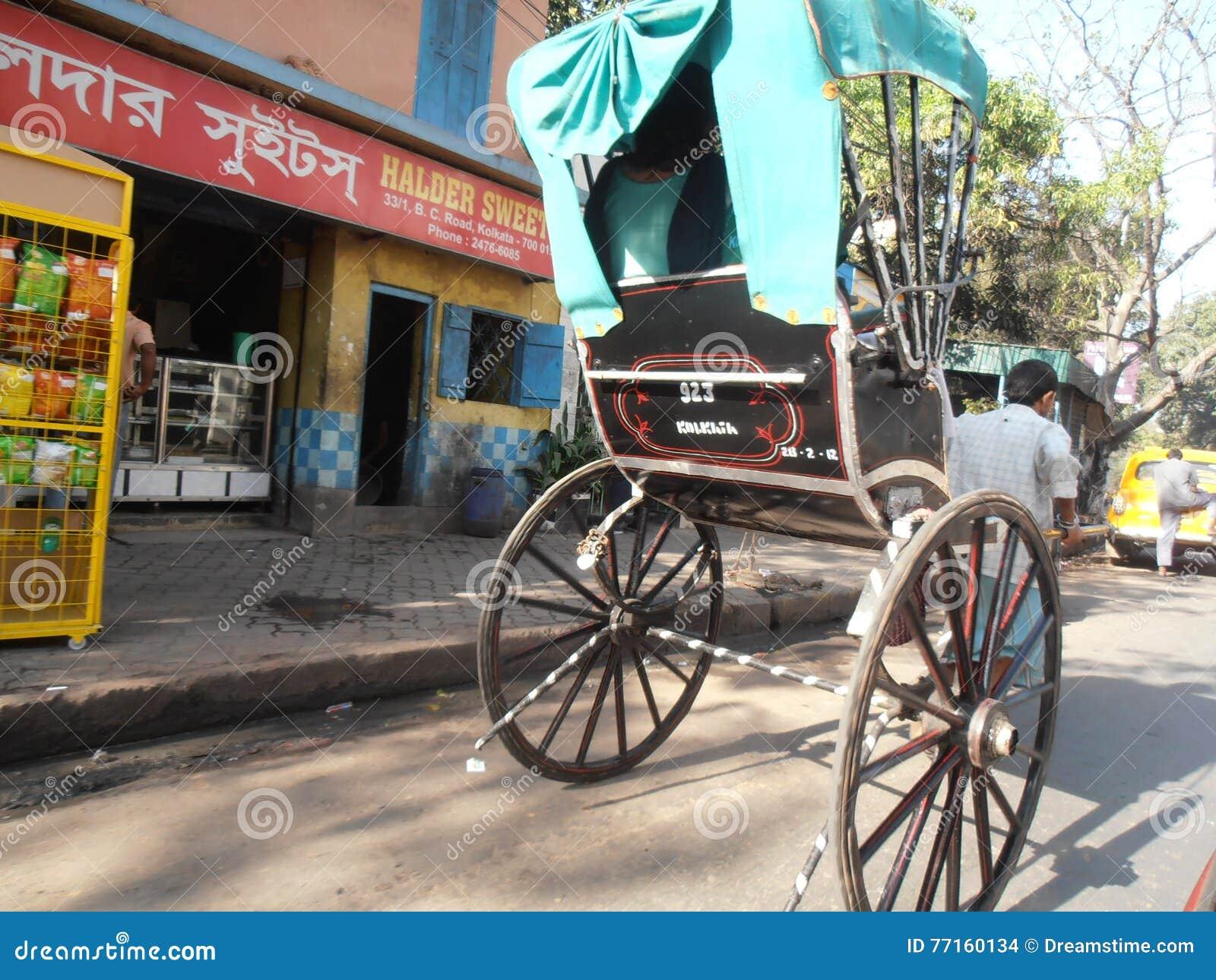 Pousse-pousse de Kolkata