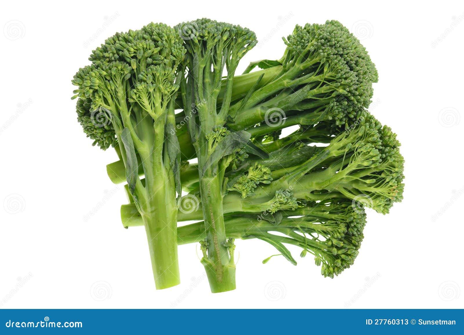 Pousses de brocoli de chéri