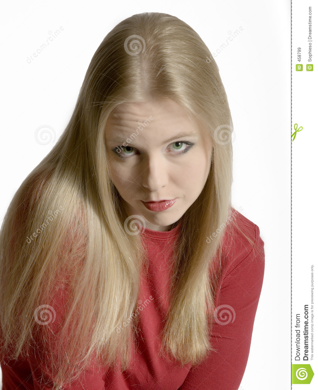 Pouty Blonde Royalty Free Stock Images Image 458799
