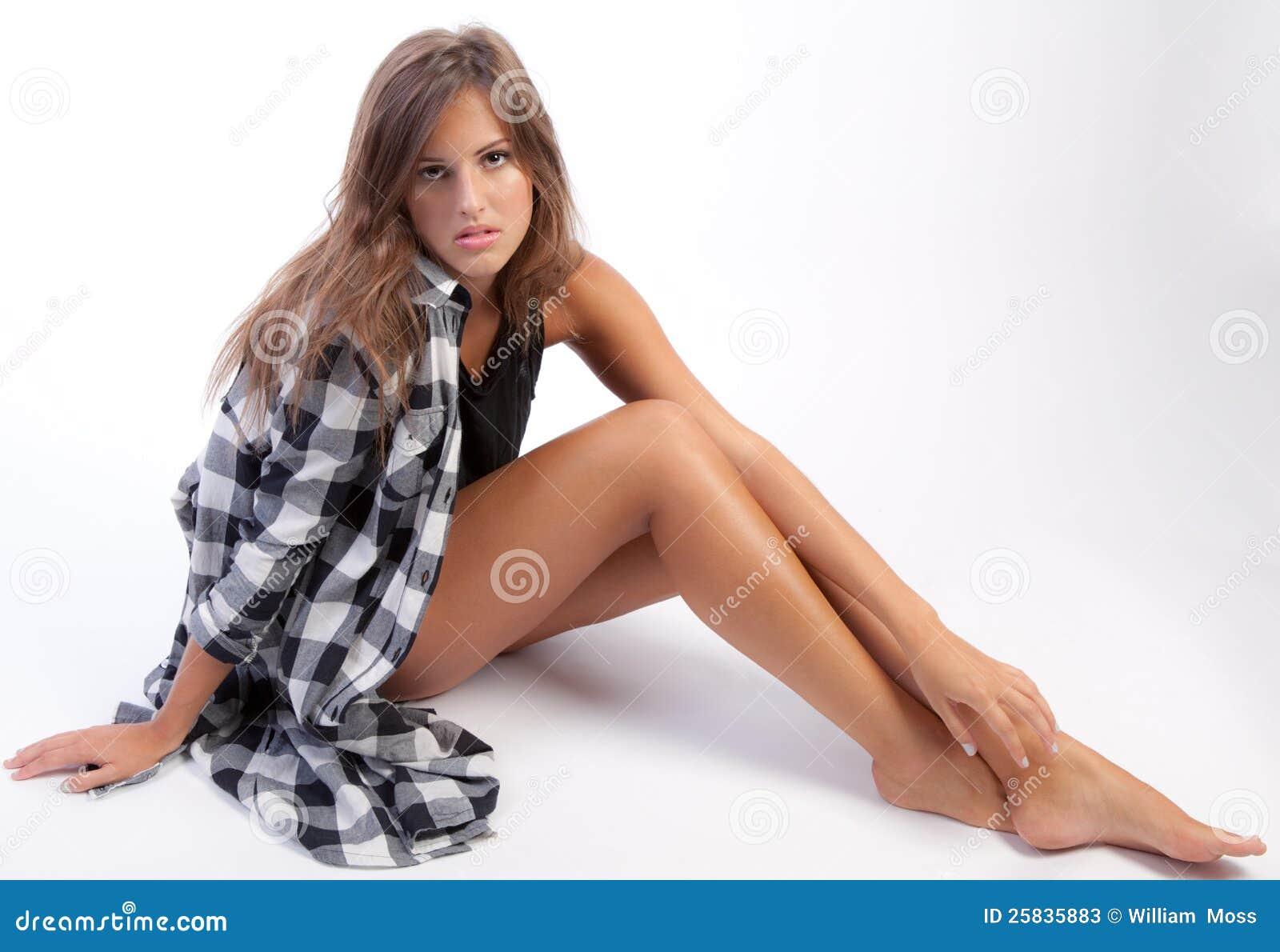 College tube cuties legs with teens long