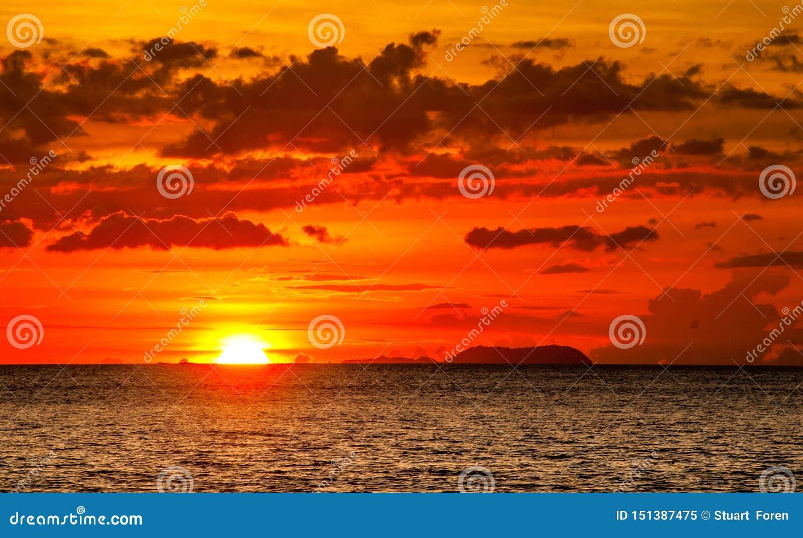 Pouvez-vous penser à un meilleur coucher du soleil ?