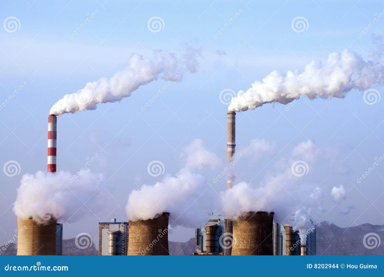 Pouvoir de centrale de charbon