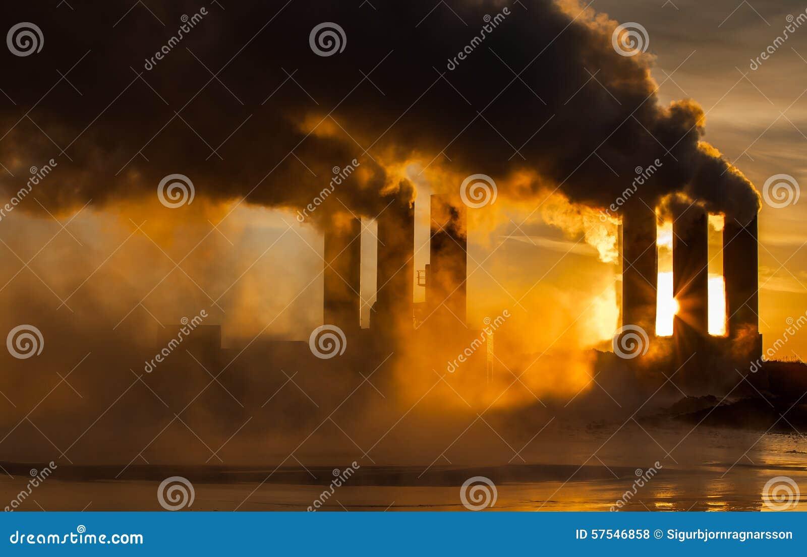 Pouvoir géothermique de centrale