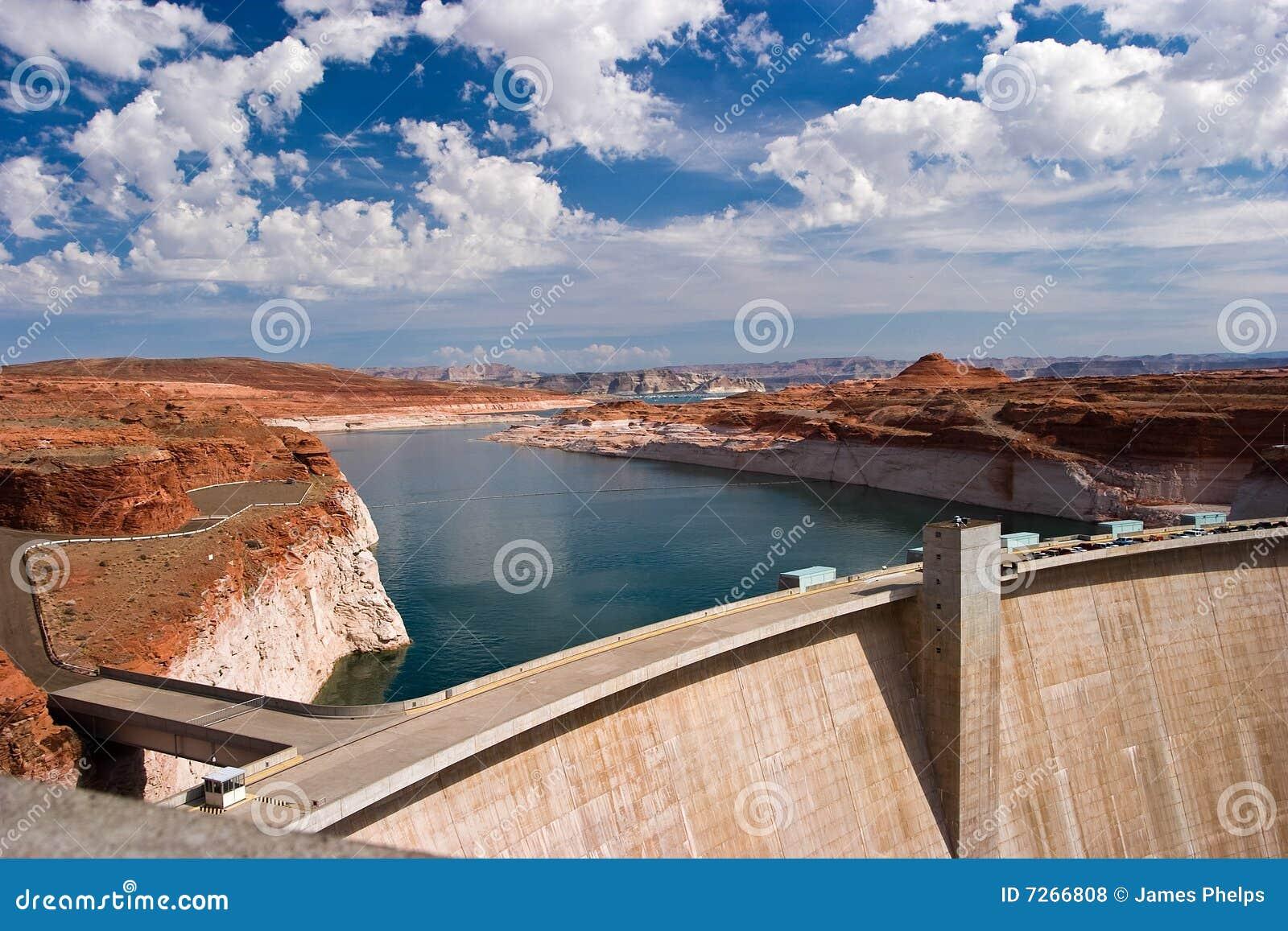 Pouvoir hydraulique électrique de barrage