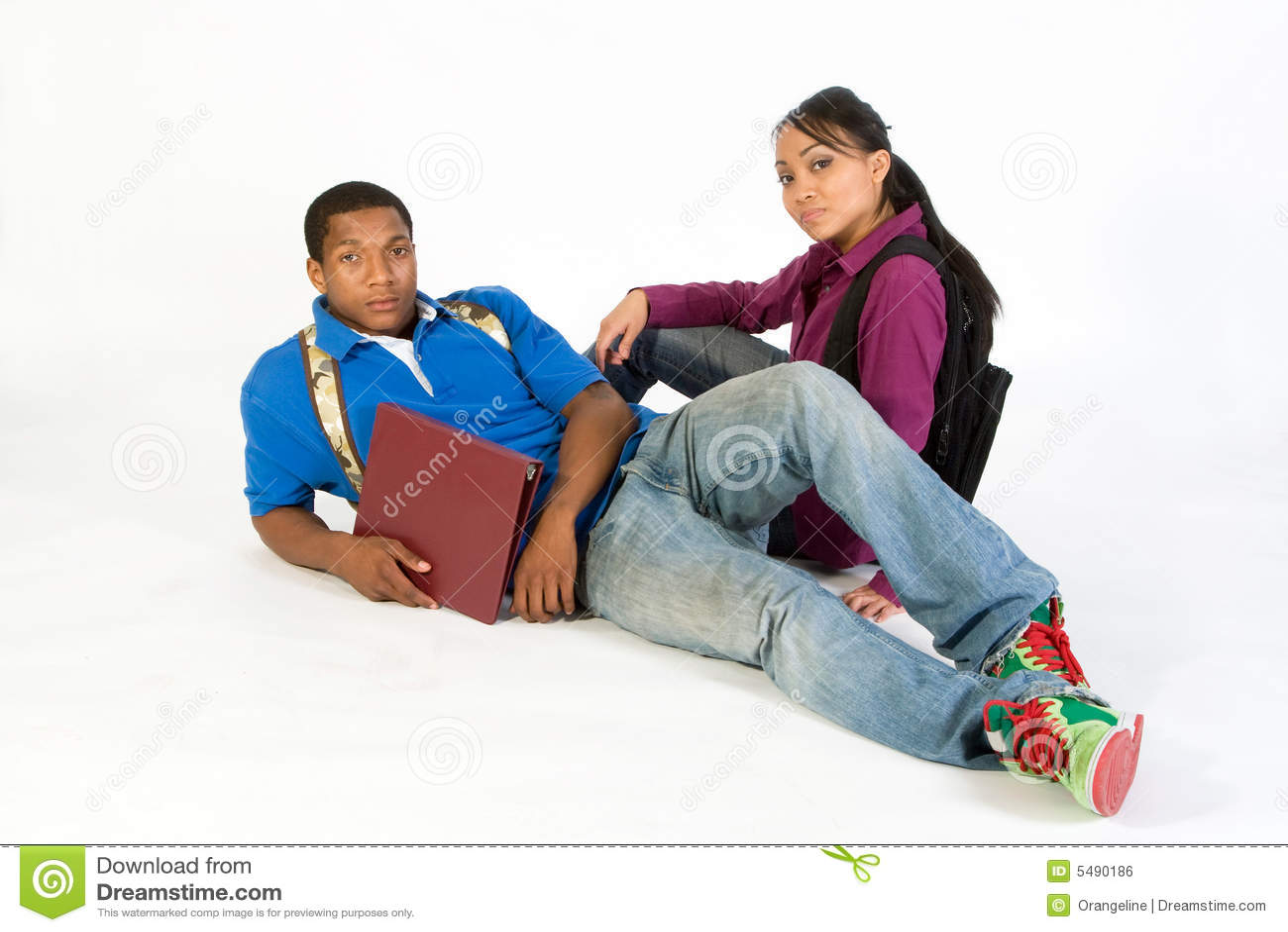 Poważne horyzontalnych studentów
