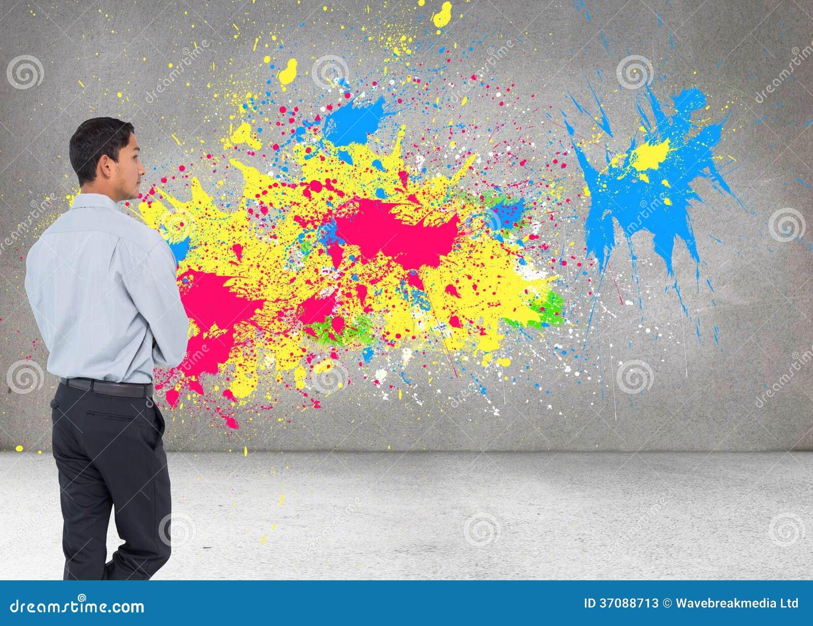 Download Poważny Azjatykci Biznesmen Obraz Stock - Obraz złożonej z yellow, hairball: 37088713