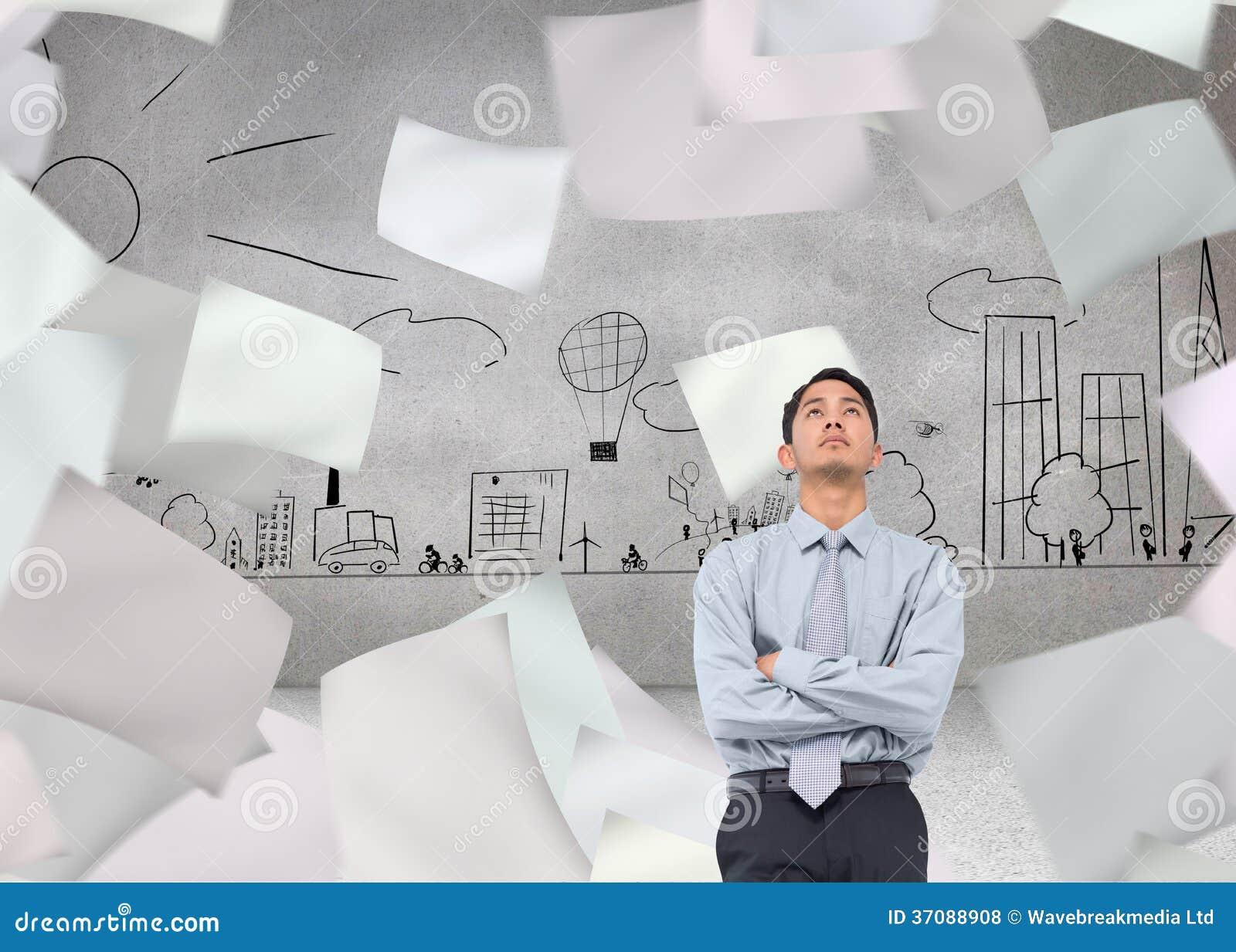 Download Poważny Azjatykci Biznesmen Zdjęcie Stock - Obraz złożonej z potomstwa, city: 37088908