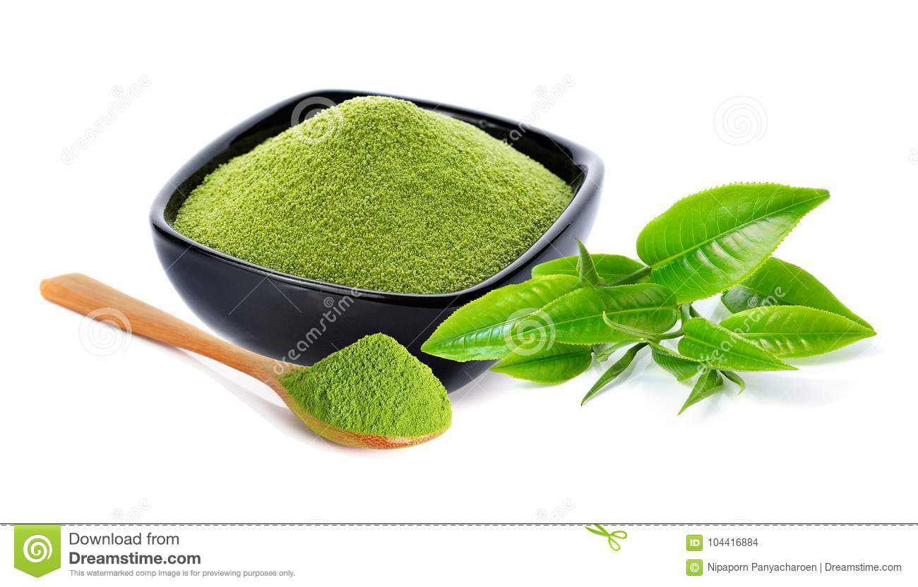 how to drink green tea powder