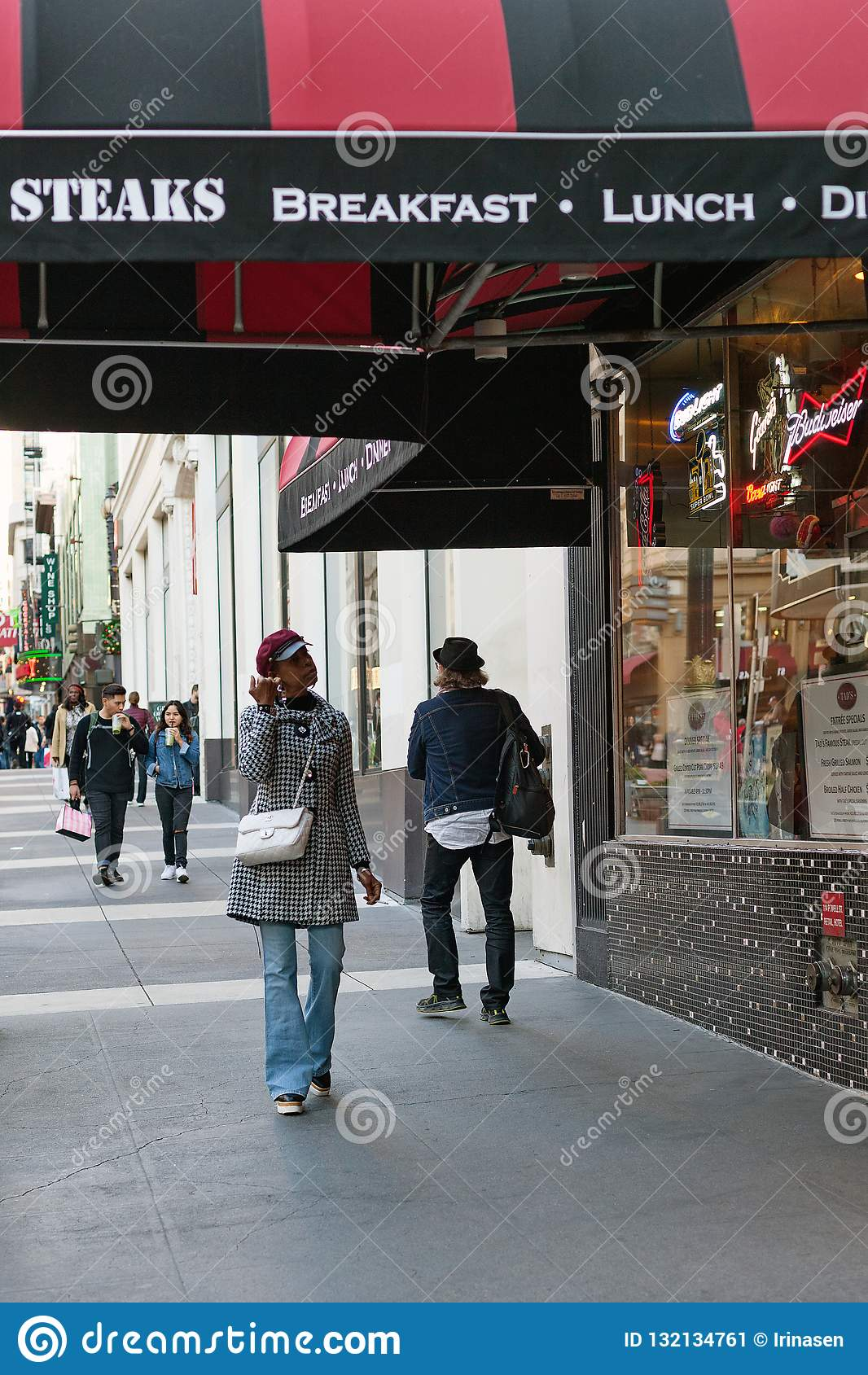 Powell street, San Francisco, United states