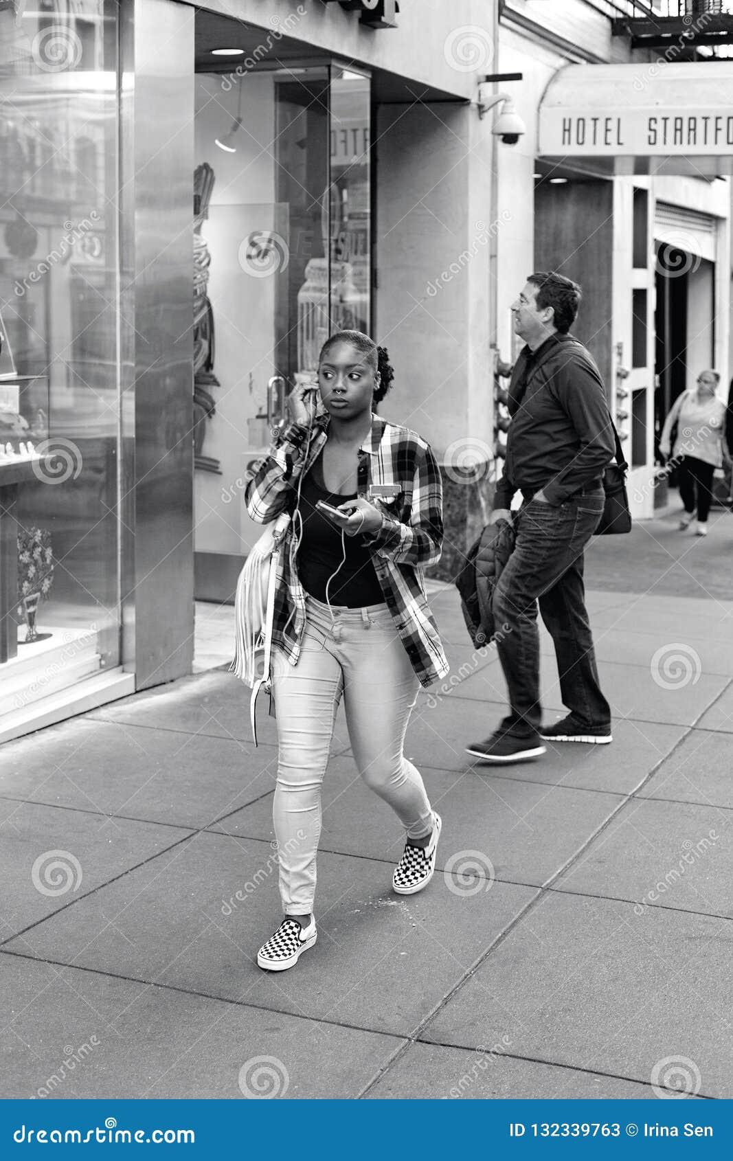 Powell ulica, San Francisco, Zlani stany
