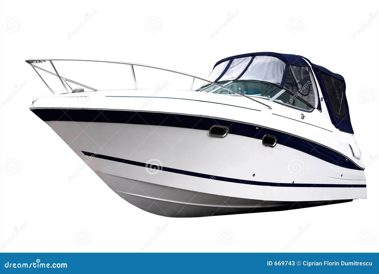 Power Boat Close