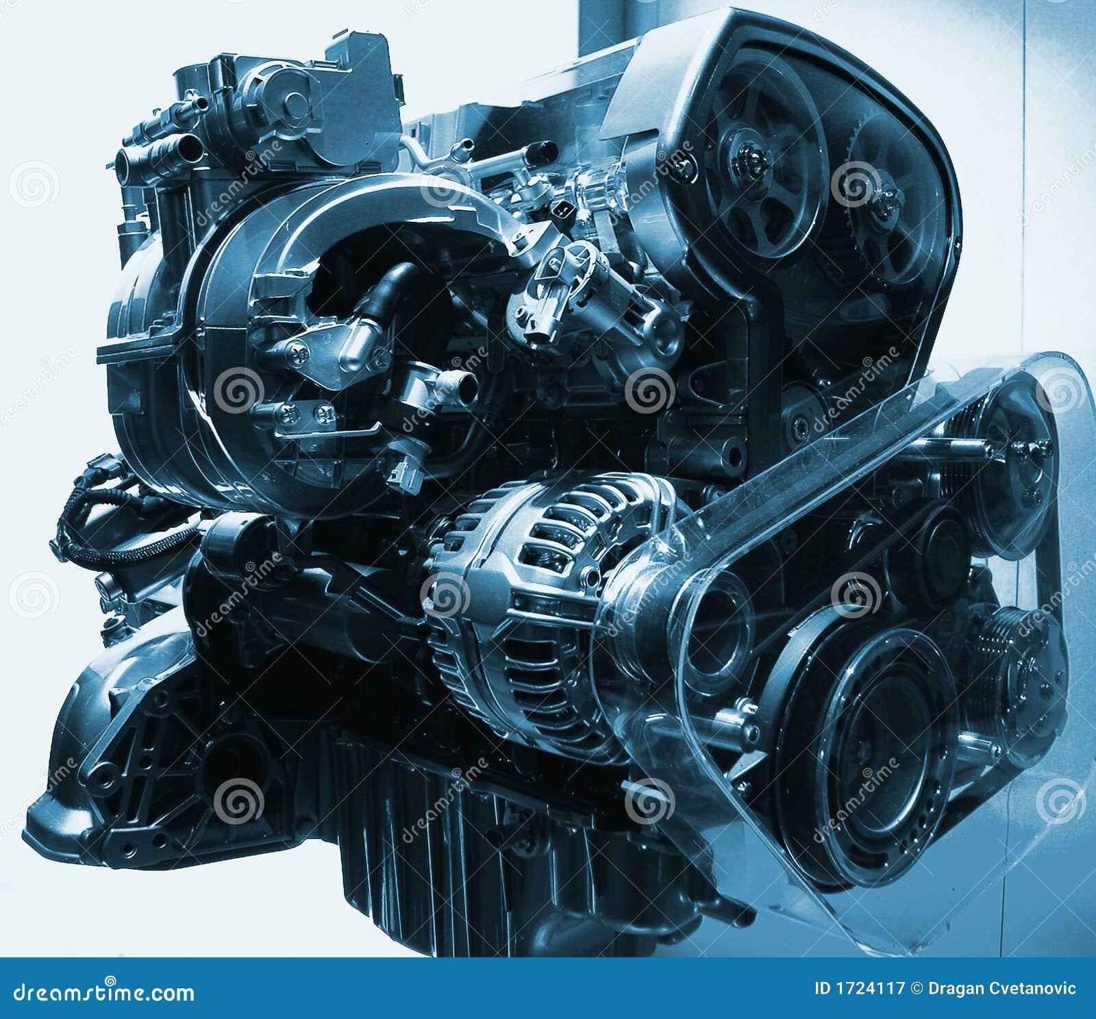 Power car engine
