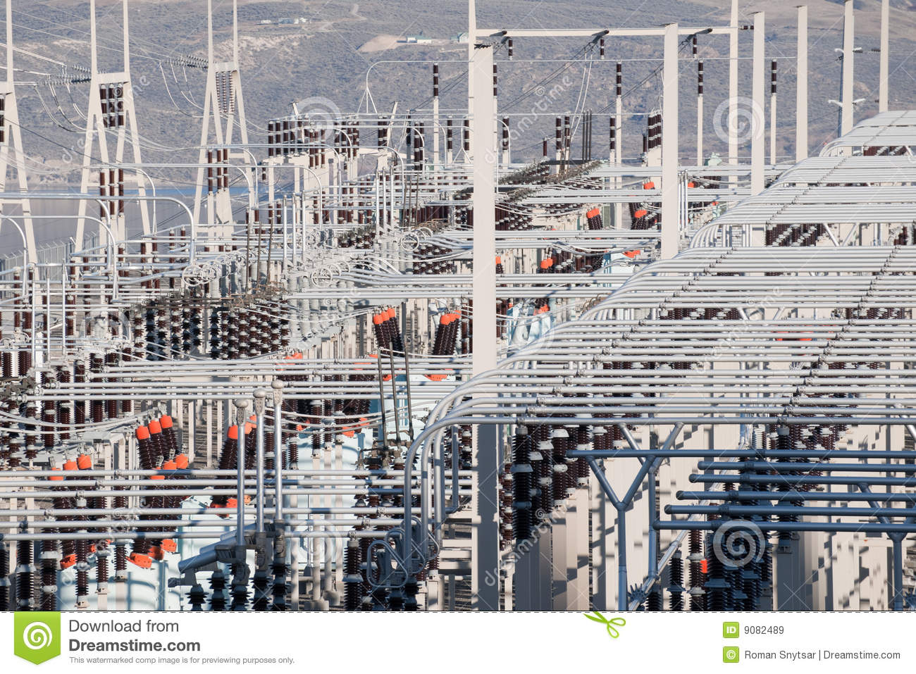 Power distribution substation royalty free stock images for Distribution substation