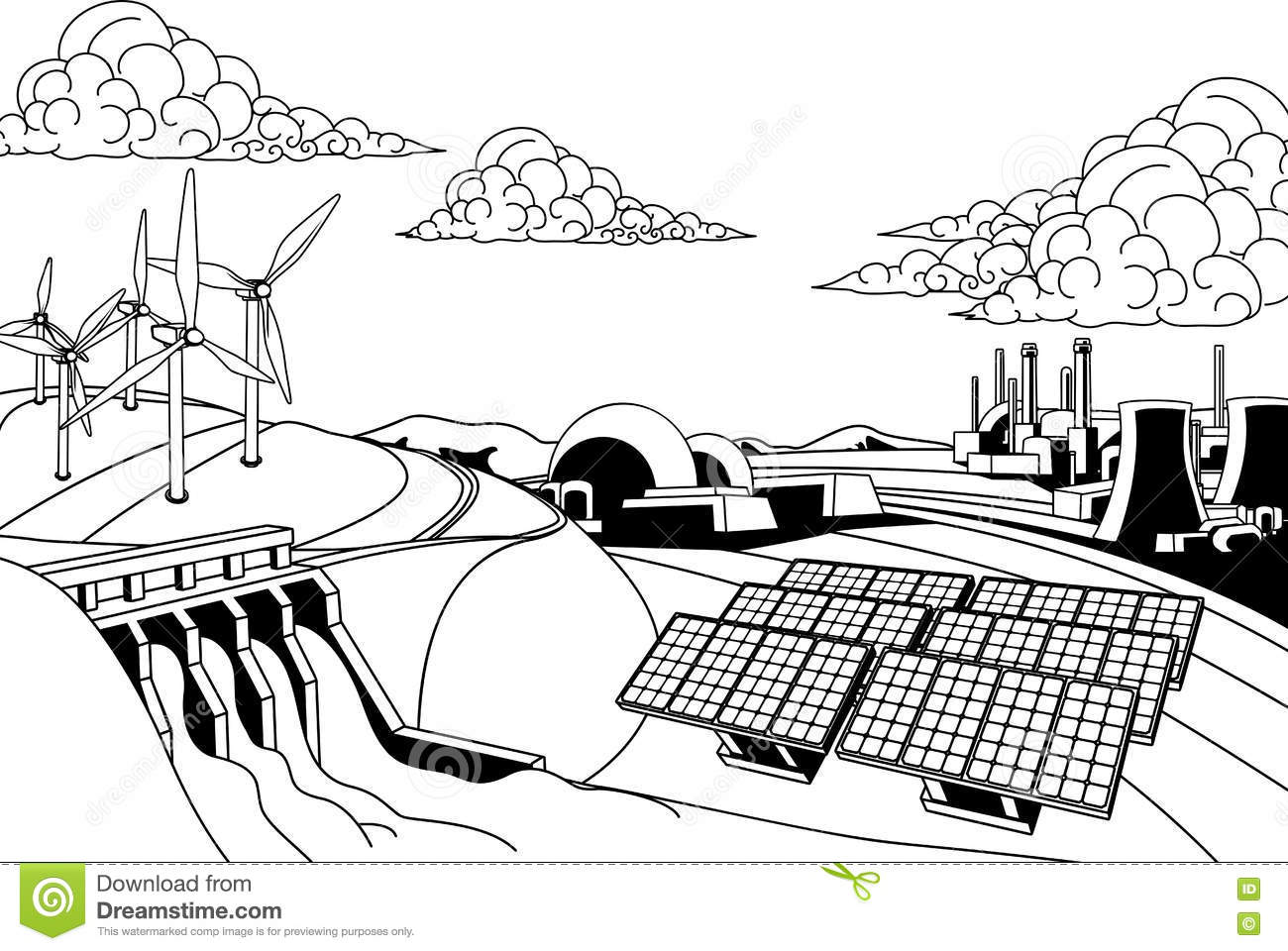 photovoltaics cartoons  illustrations  u0026 vector stock