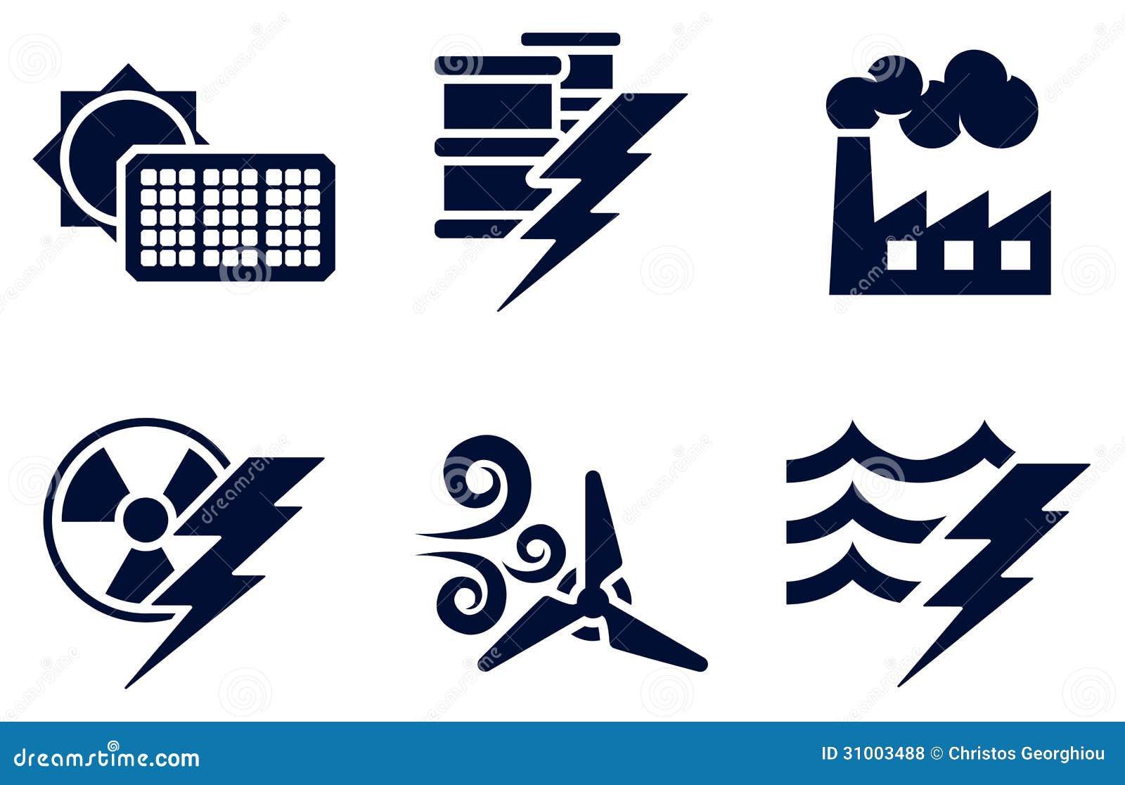 power and energy icons royalty free stock photos image clipart sunrise on a beach clipart sunrise on a beach