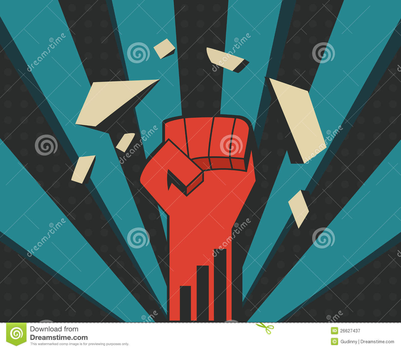 Power Fist Royalty Free Stock Photography Image 26627437