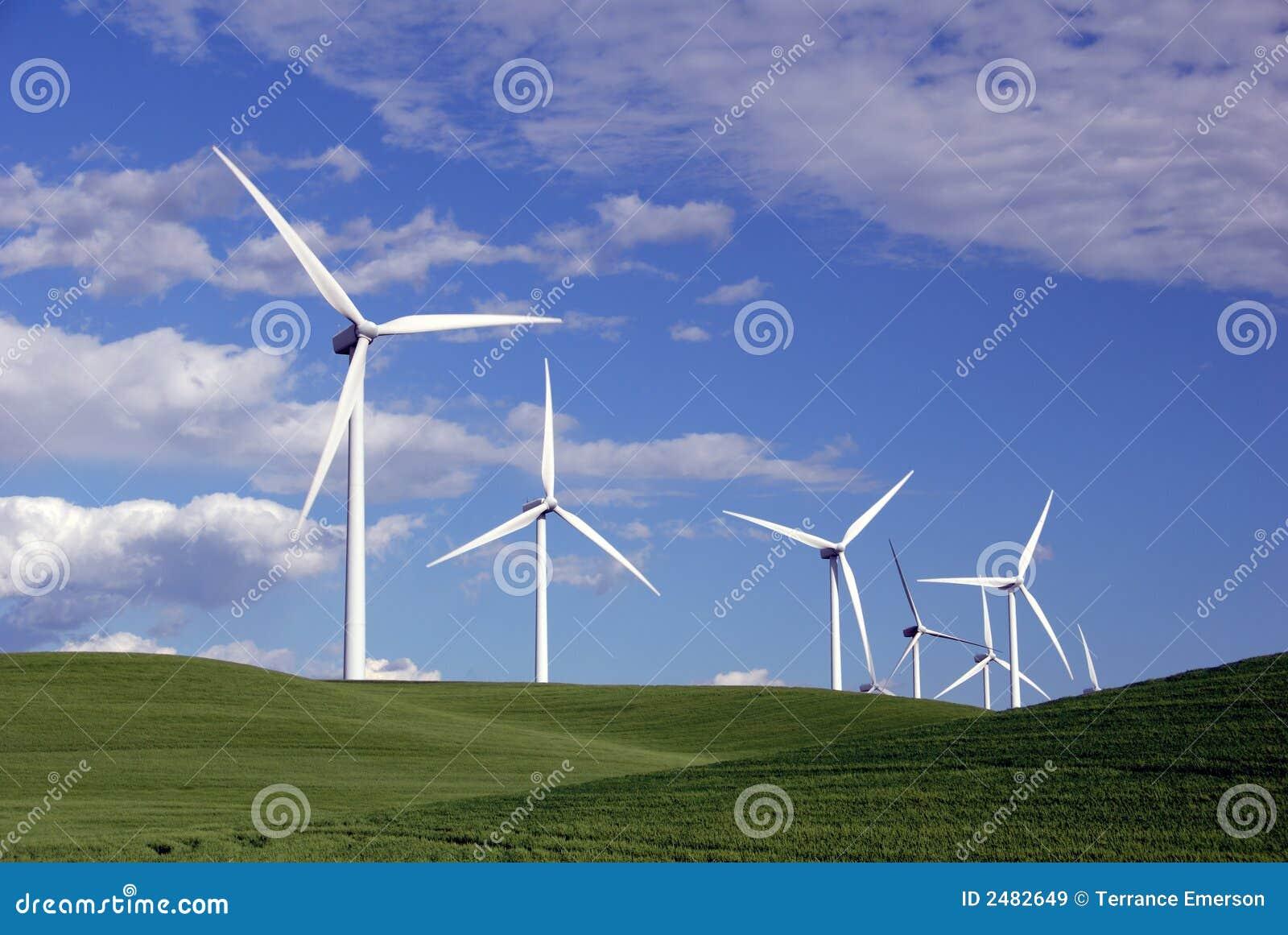 Power Generating Wind Turbines