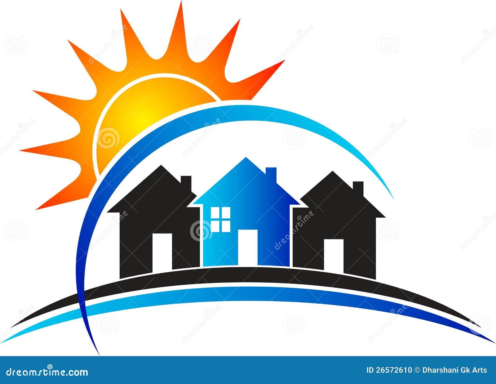Power Home Logo Stock Photo Image 26572610