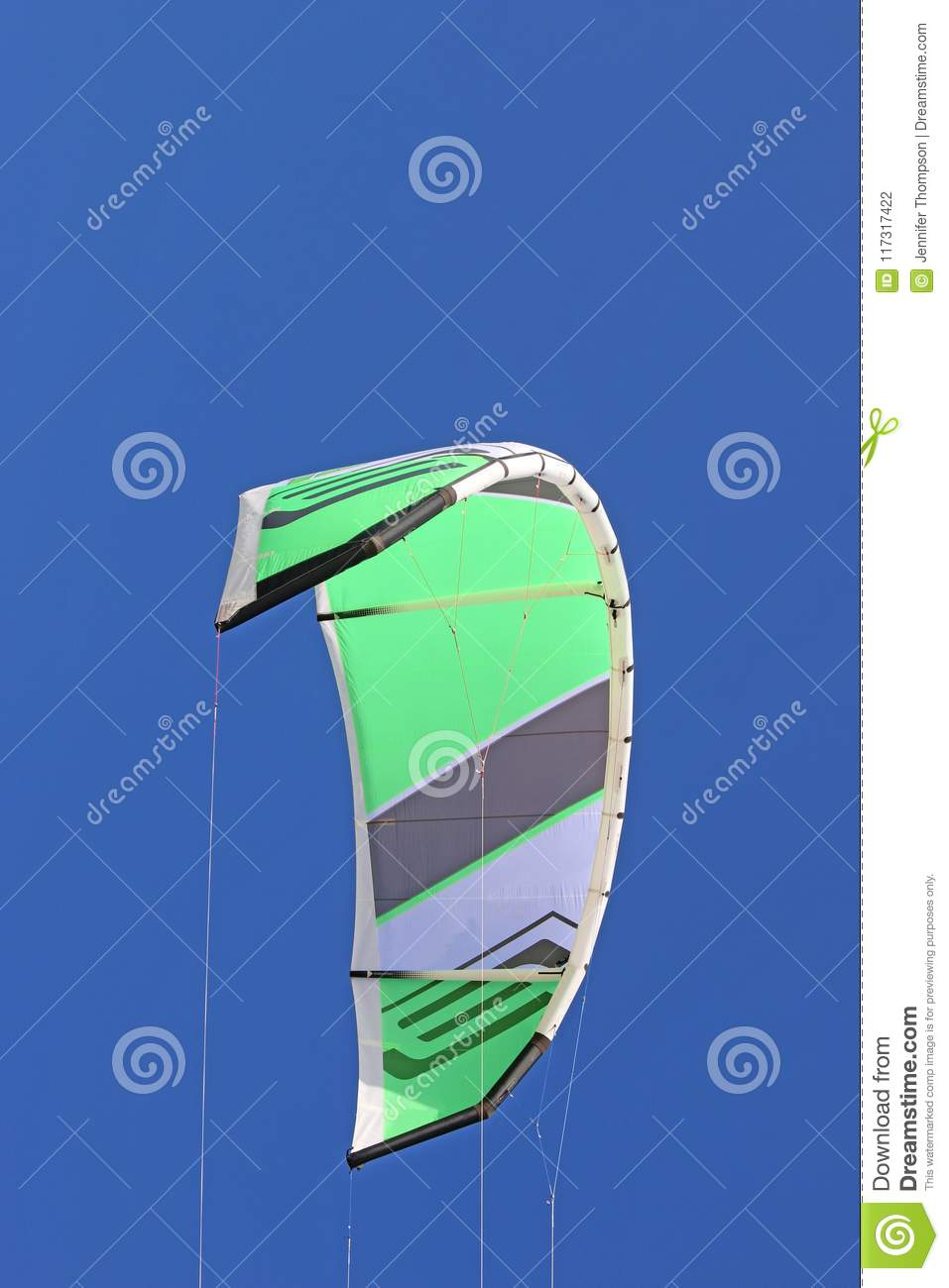 Power Ite Flying Stock Photo Image Of Water Surf Flying 117317422