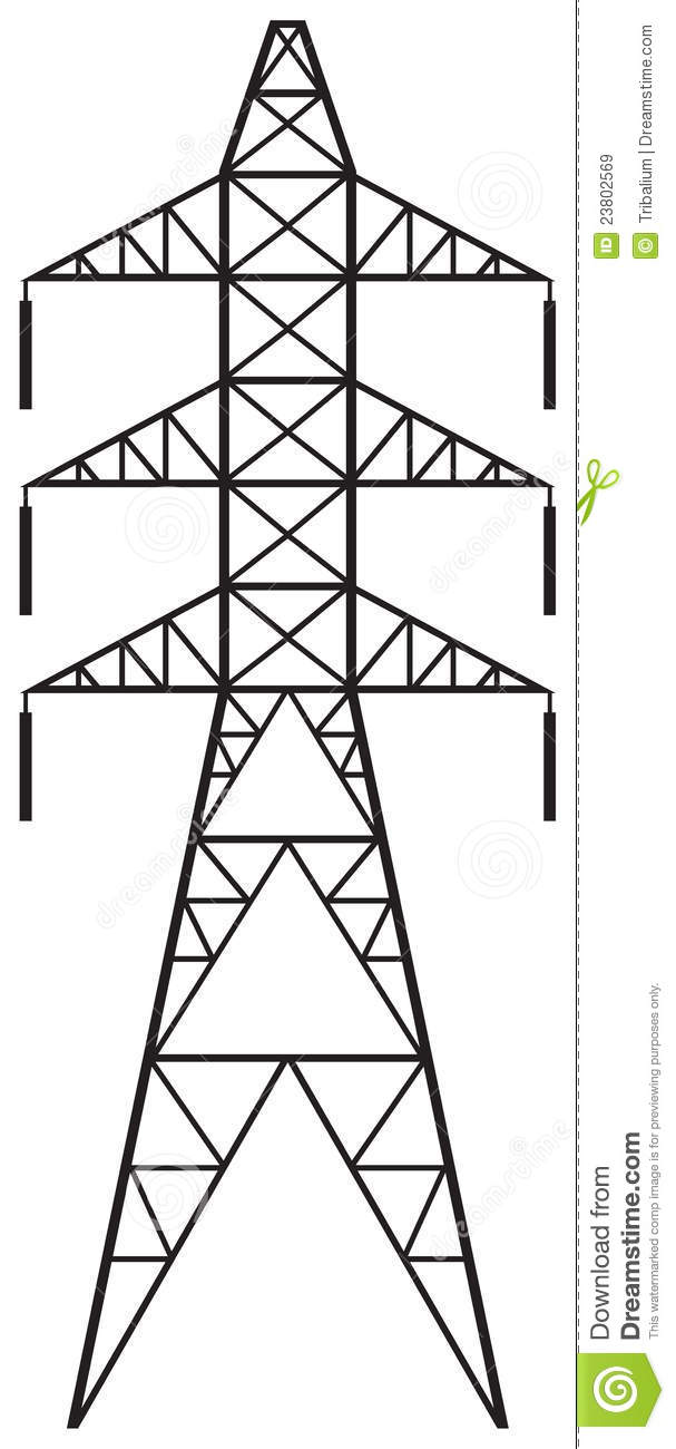 Power Line Royalty Free Stock Images Image 23802569