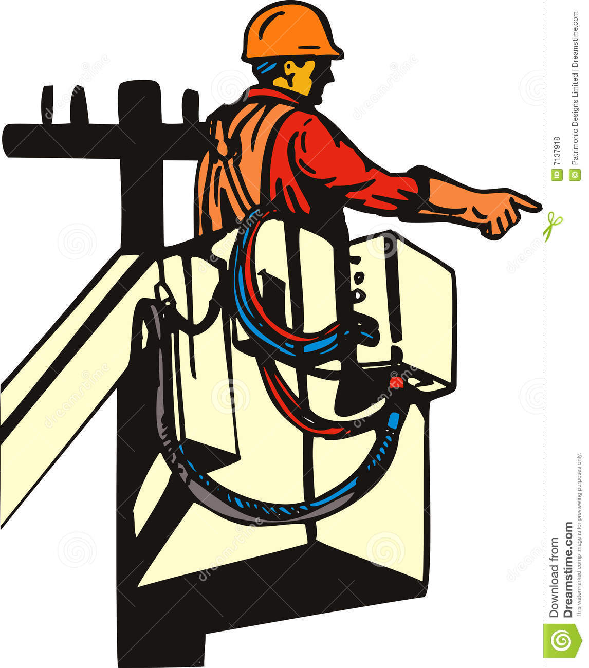 electricians at work clip art - photo #29