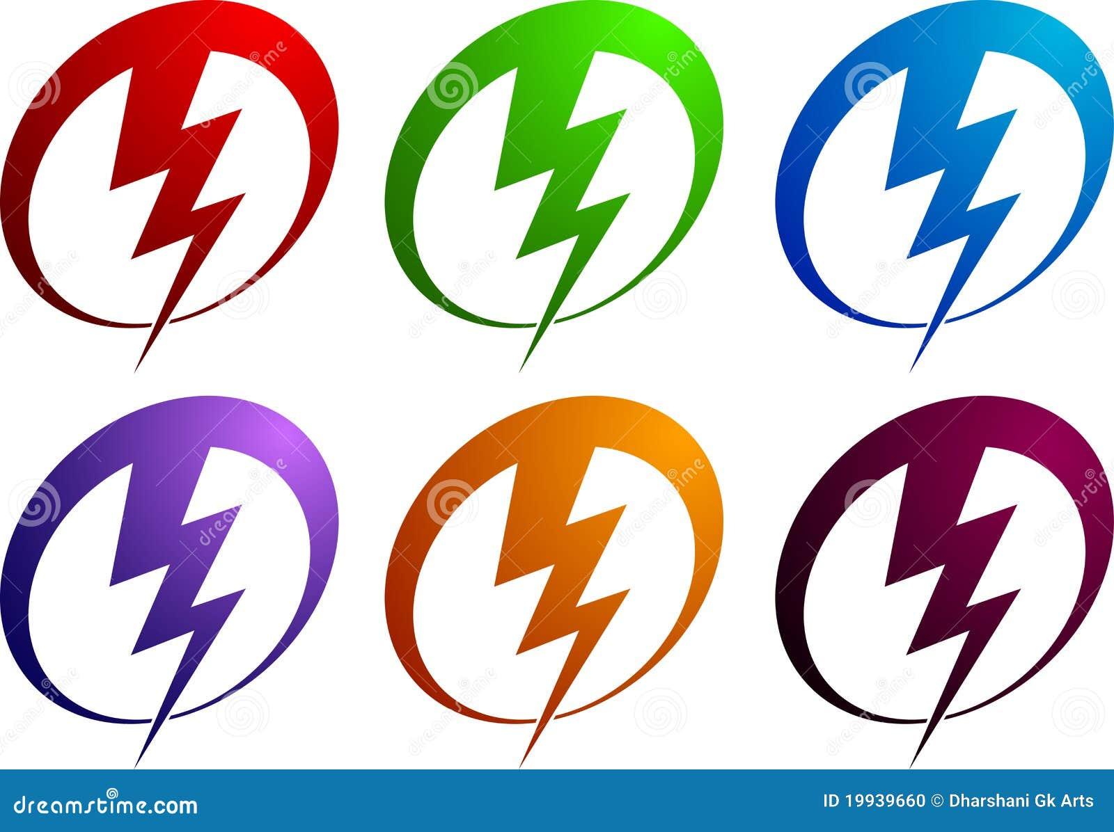 power logo stock photo image 19939660