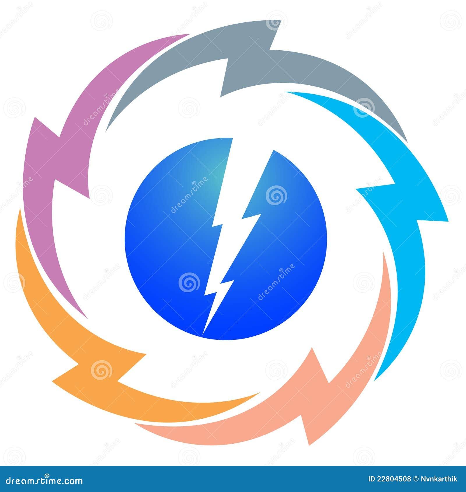 power logo royalty free stock photos image 22804508
