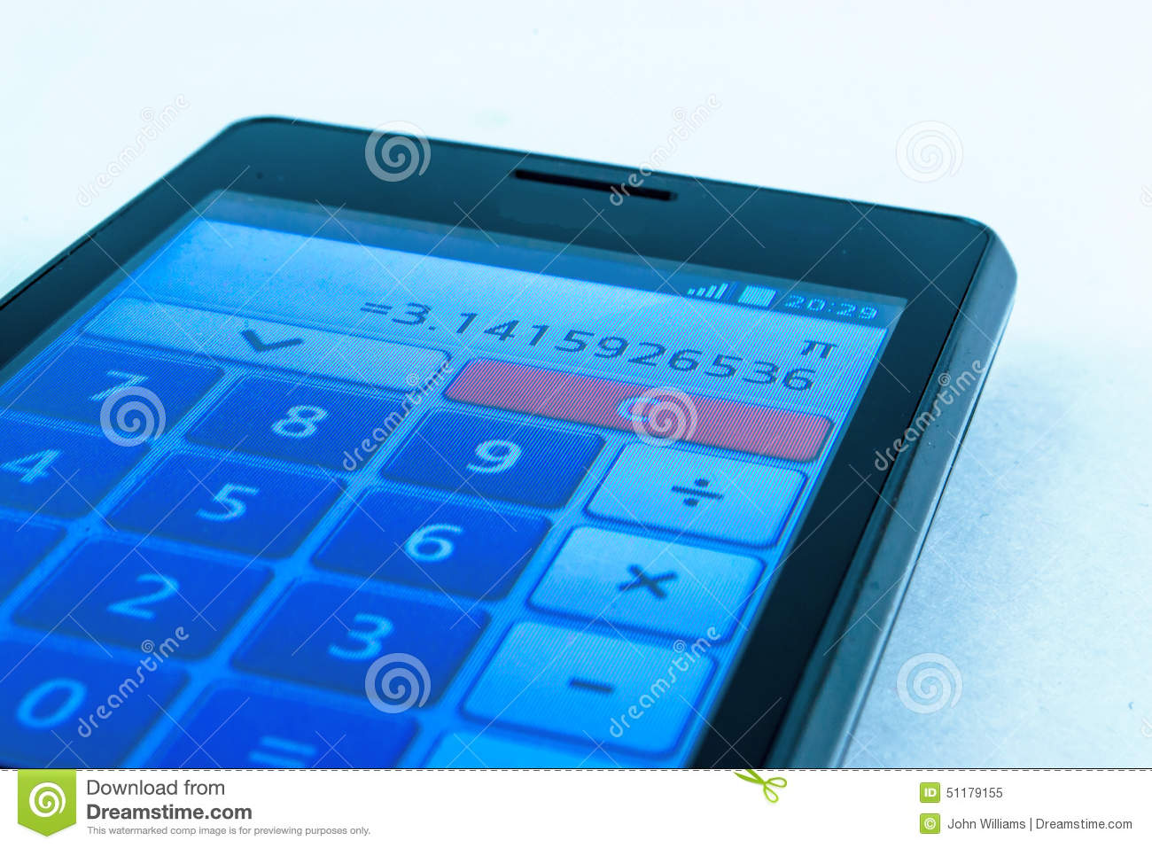 The Power Of Pi Stock Image Image Of Math Constant 51179155