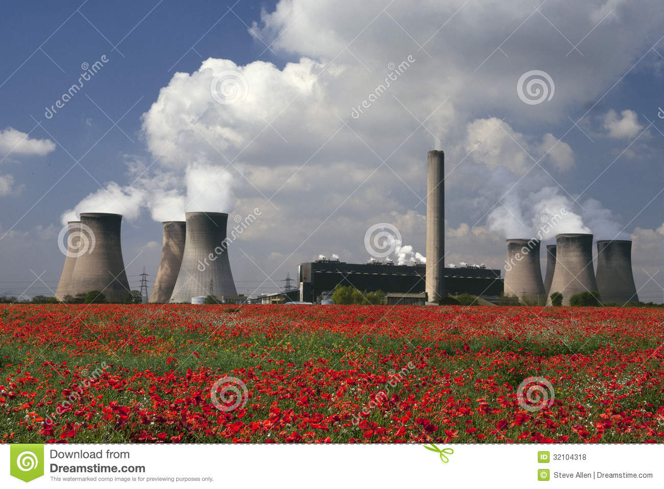 Cheshire United Kingdom  city pictures gallery : coal fired power plant in Cheshire in the United Kingdom.