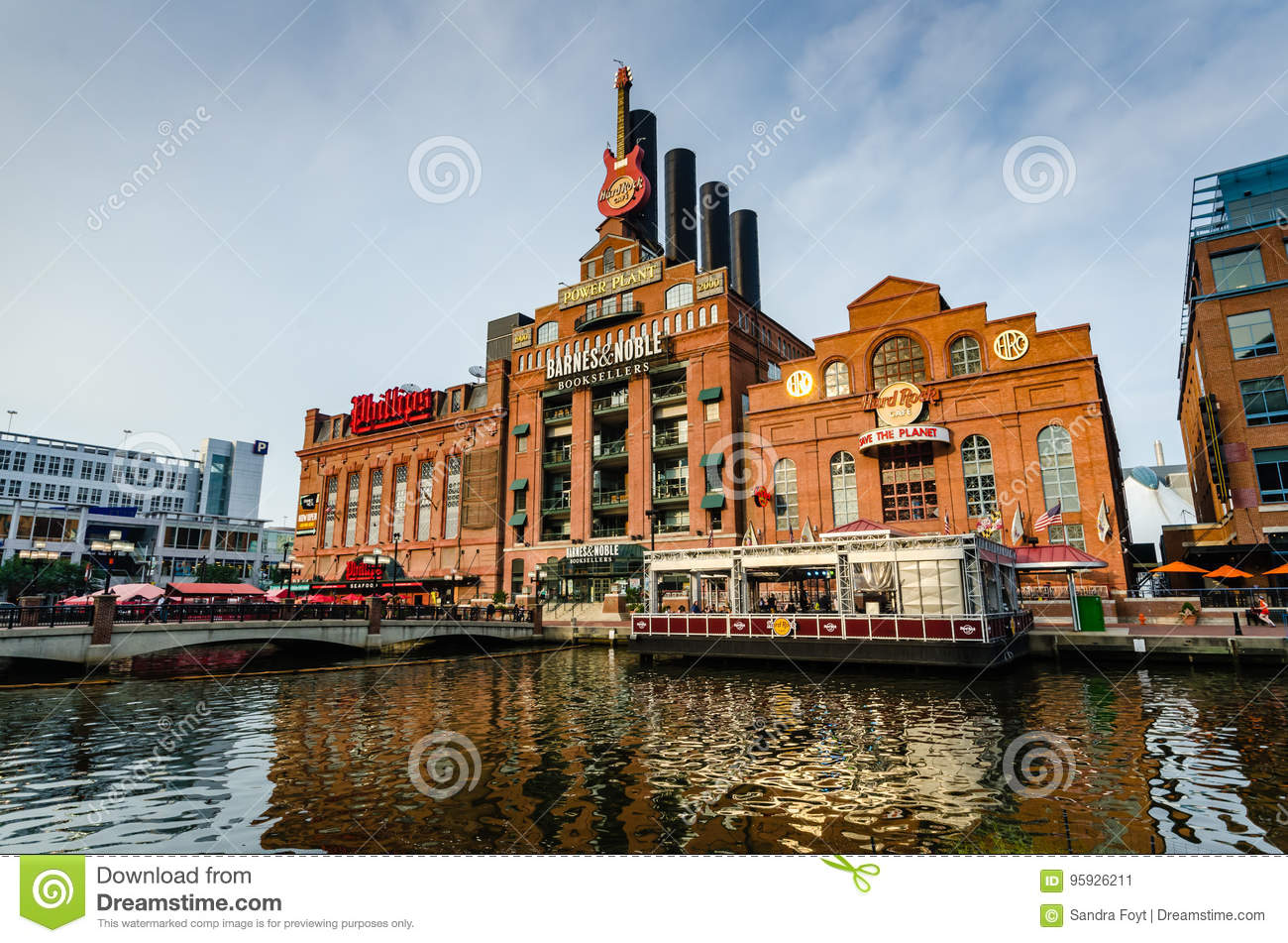 Power Plant Live Baltimore Md Editorial Photo Image Of