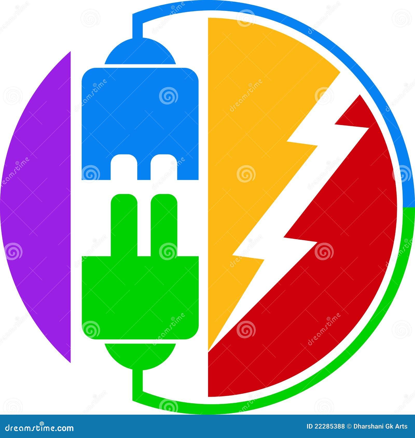Plug Power Stock Quote: Power Plug Logo Royalty Free Stock Photos