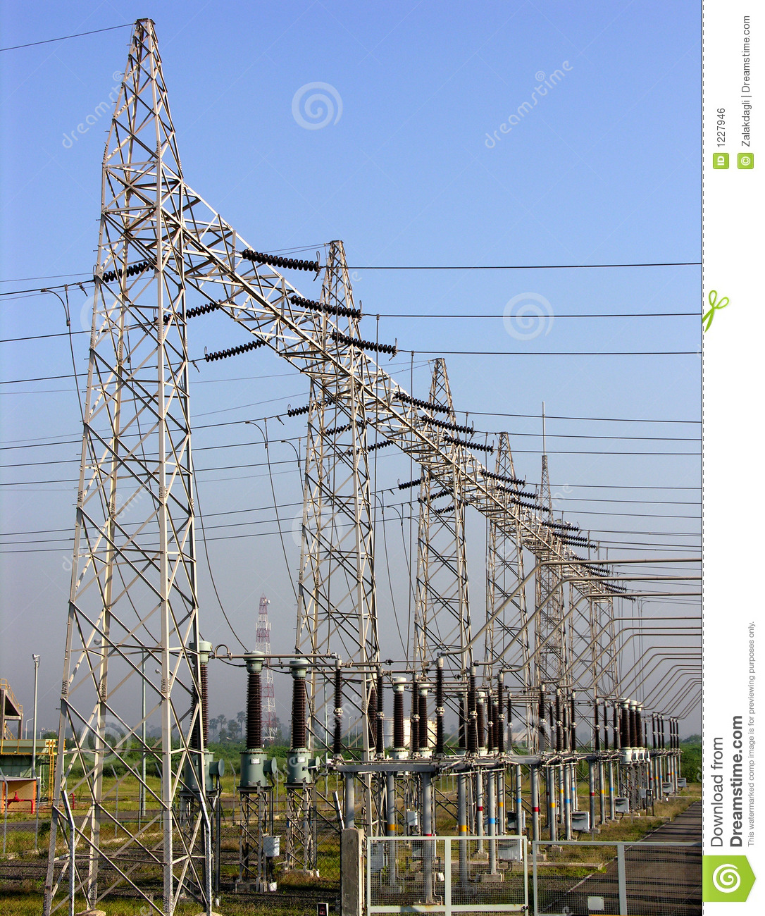 Power Pole, Power Poll, Electricity Royalty Free Stock Image - Image ...