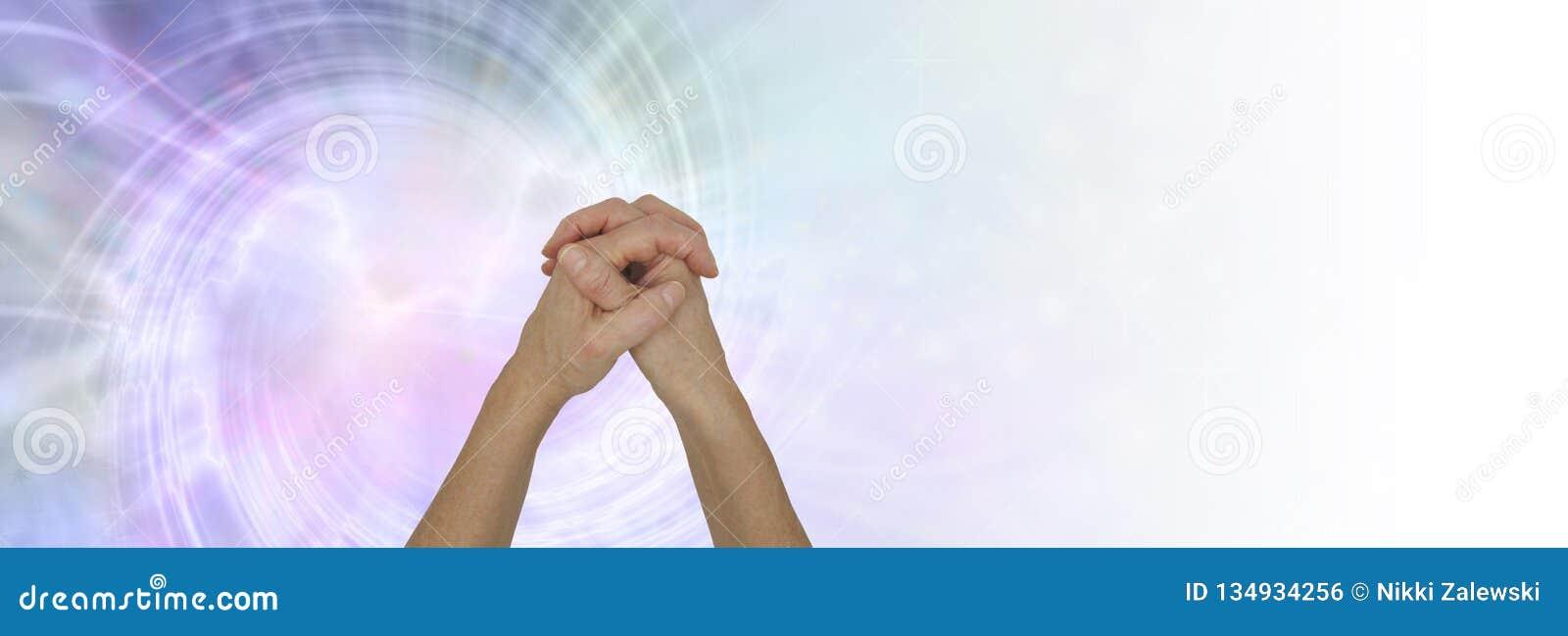 The Power of Prayer Background Banner