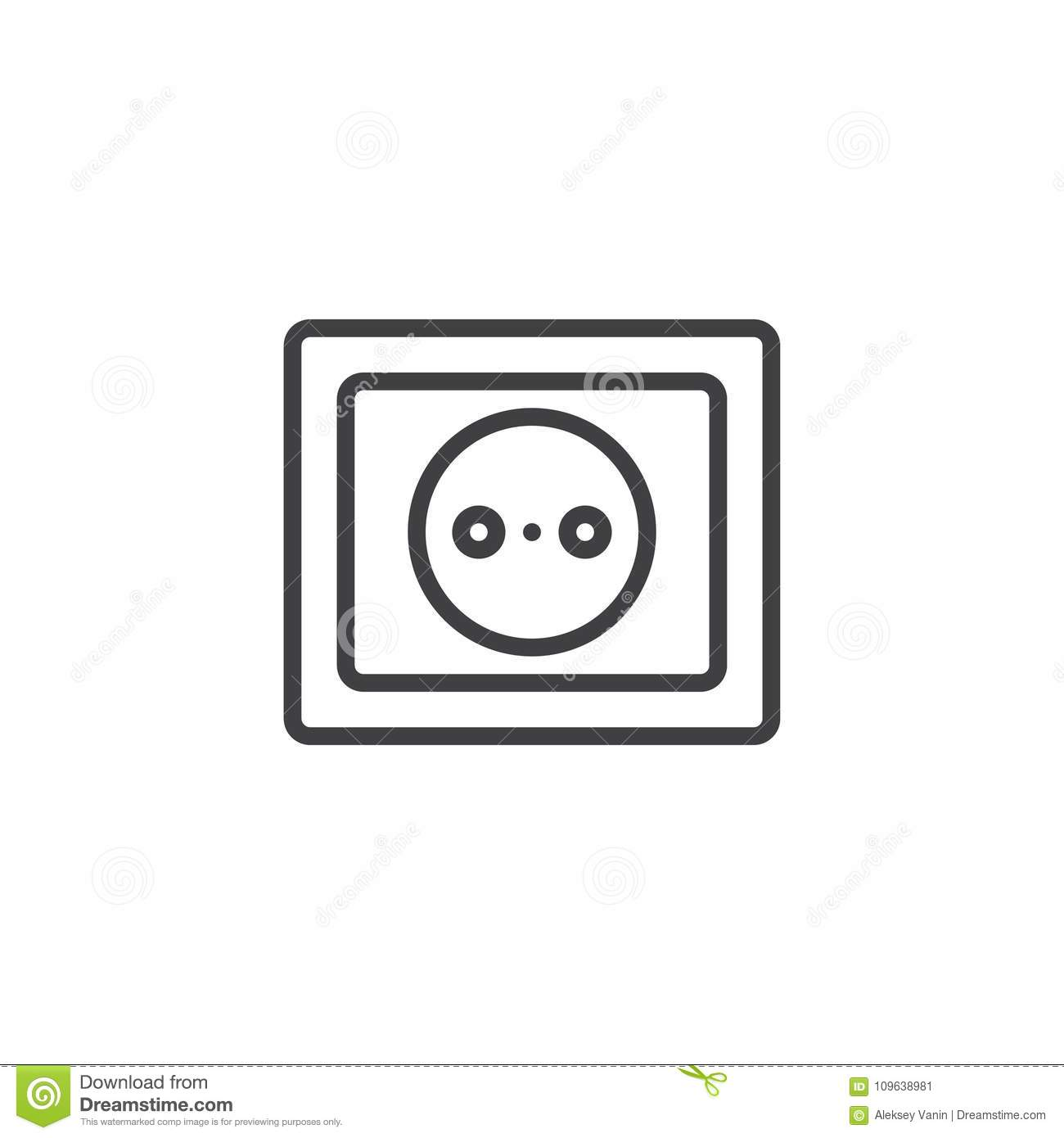 Power socket line icon stock vector. Illustration of ... on electrical transformer symbol, electrical lighting symbol, electrical cabinet symbol, electrical light symbol, electrical socket symbol, electrical ground symbol, electrical panel symbol, electrical float switch symbol, electrical wall switch symbol, electrical motor symbol, electrical power symbol, electrical fan symbol, electrical conduit symbol, electrical outlet symbol, electrical cap symbol, electrical fuse symbol, electrical plug symbol, antenna electrical symbol, electrical circuit breaker symbol, electrical switches symbol,