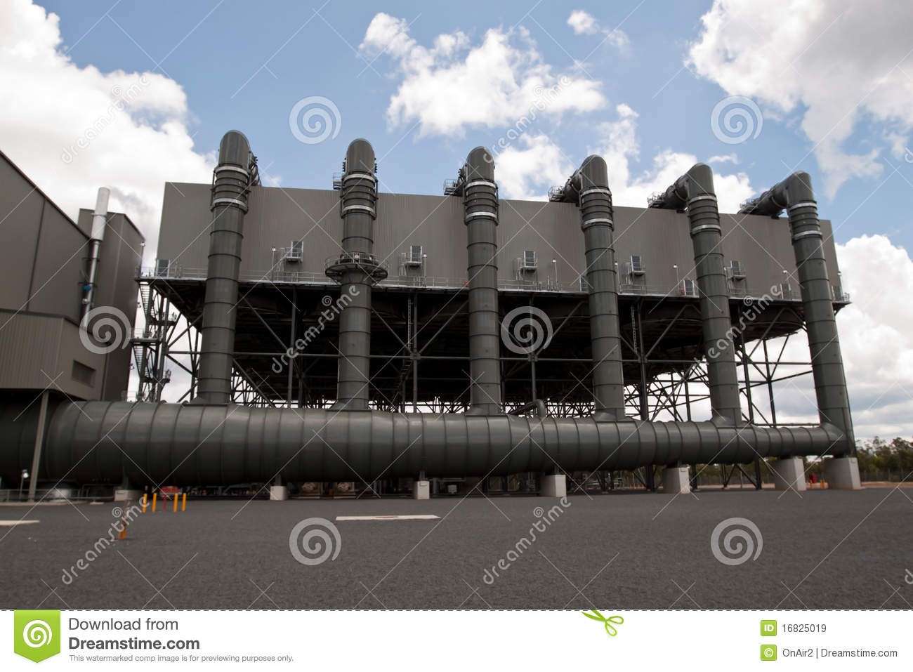 Air Cooled Condenser. Environmentally advanced low emission power ...
