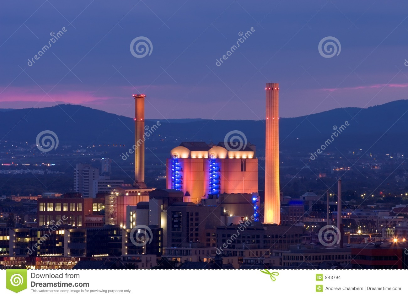 Power Station in Germany