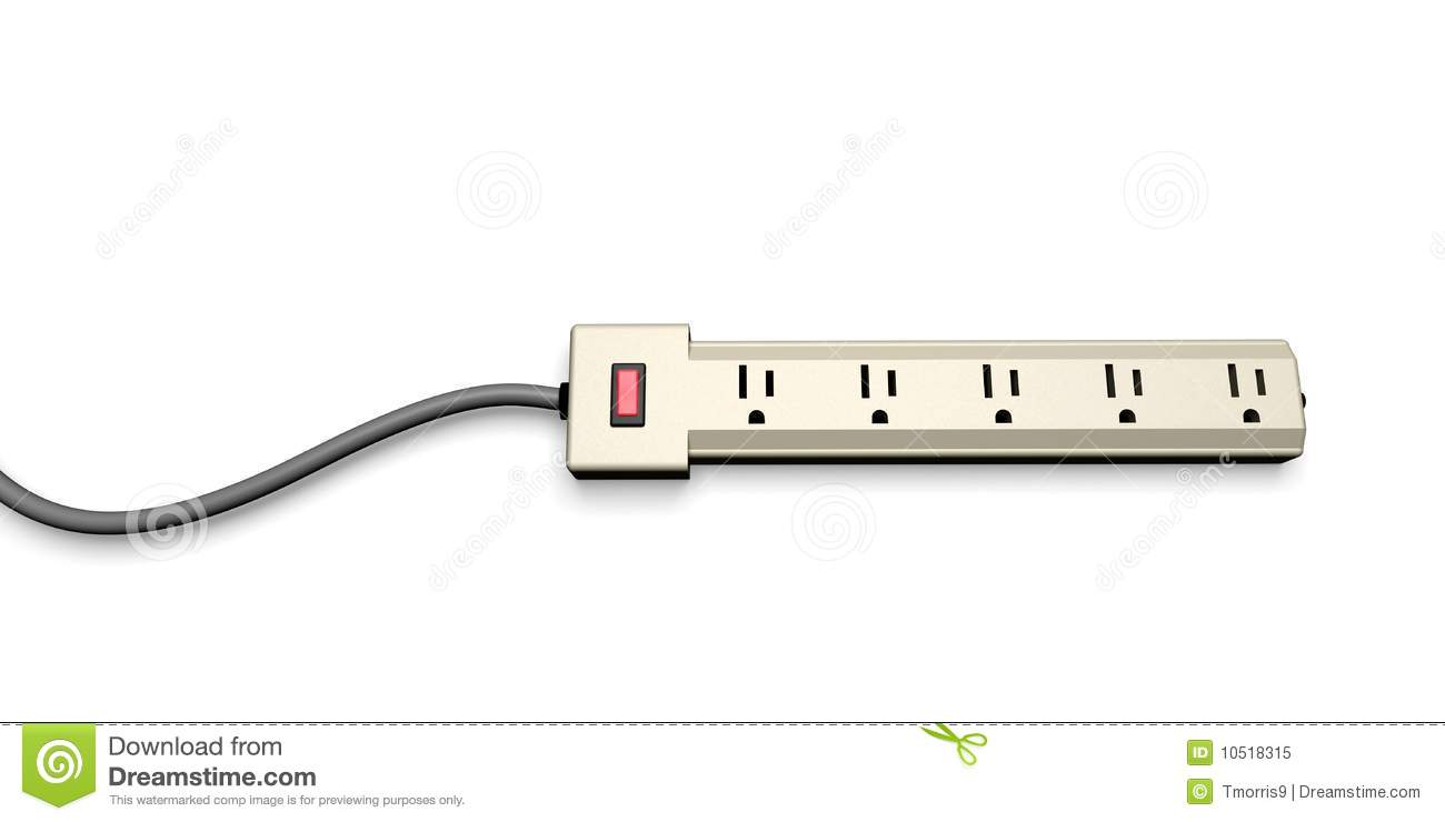 Extension Power Strip Stock Illustrations – 71 Extension Power Strip ...