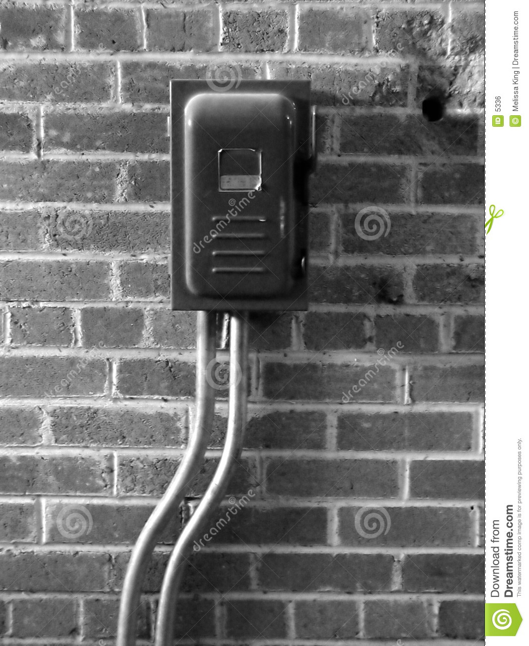 Power Switch on Wall