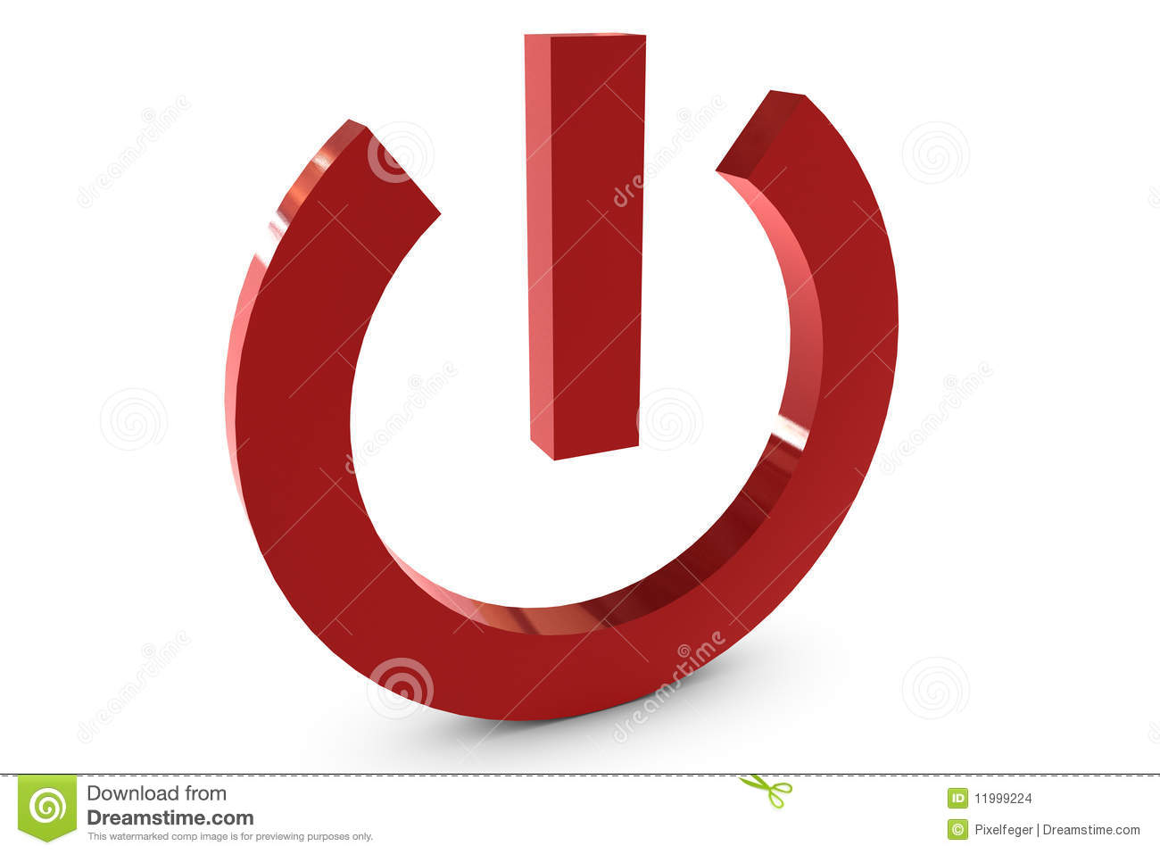 Power Symbol Stock Images - Image: 11999224