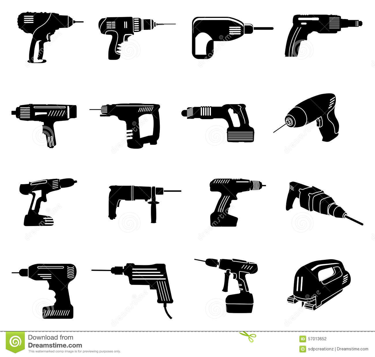 power tools icon. royalty-free vector. download power tools icons icon ,