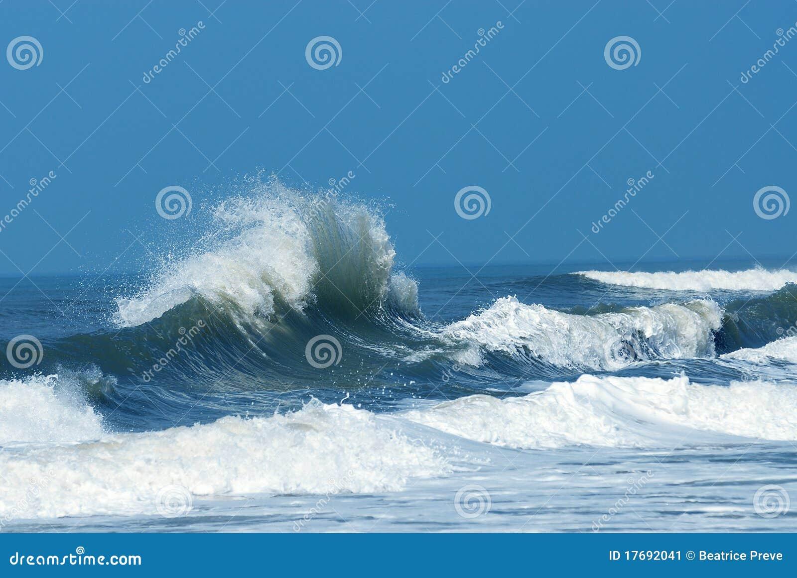 Powerful Crashing Wave